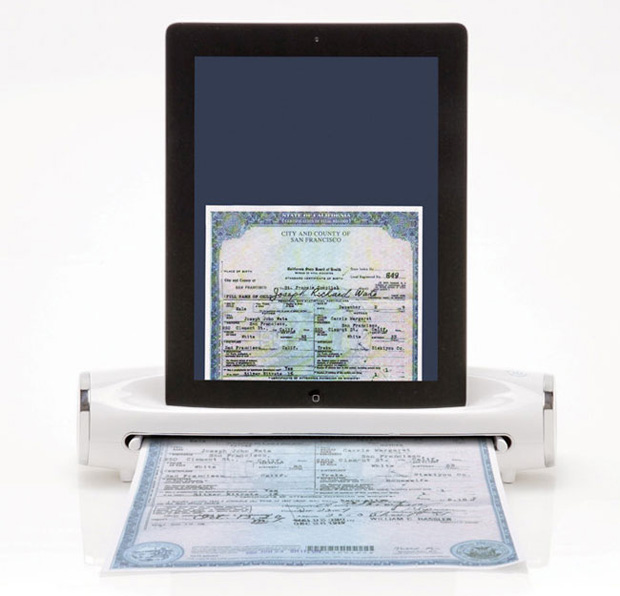 Photo-to-iPad-Scanning-Dock